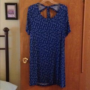Woman's Blue Dress
